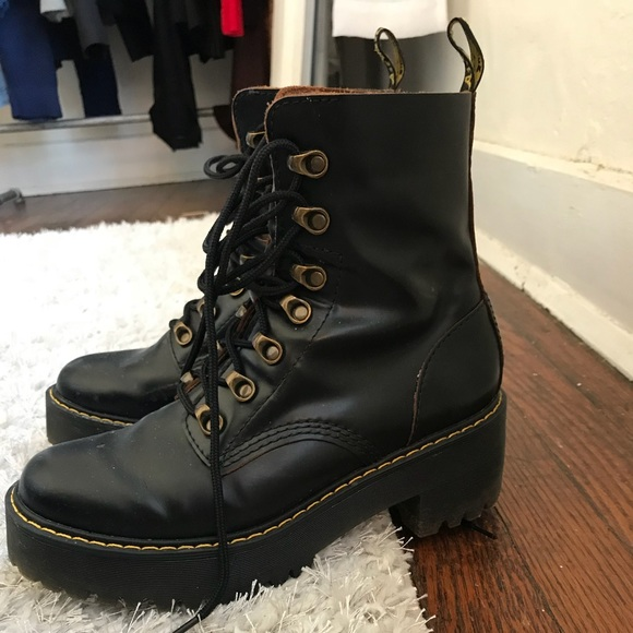 f68c6a85697 Dr. Martens Shoes - Dr. Martens Leona Boots